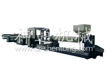 Longmen flat film drawing unit
